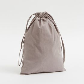 dyed cotton self-fabric looped cords top stitched - Drawstring bags at any size from Ethical supplier of UK