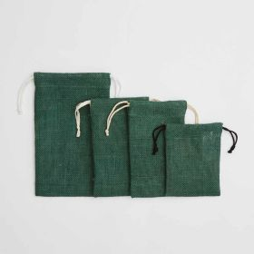 jute fabric drawstring bags in any size shape color - Direct from Ethical Bags Supplier of UK