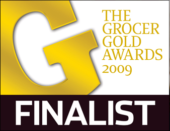 The Grocer Gold Awards Finalist logo