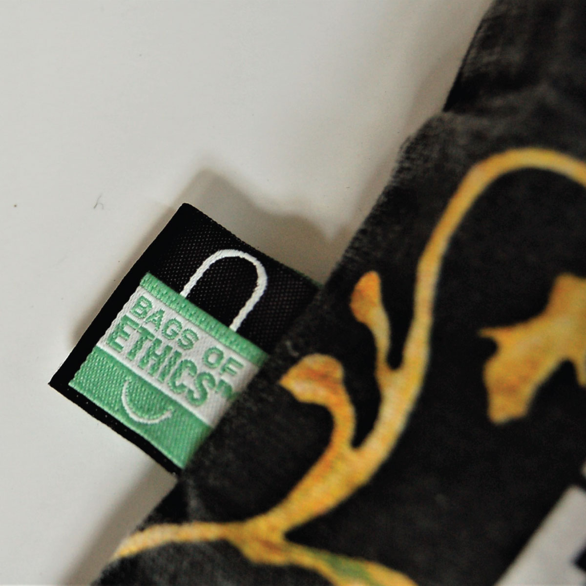 bags of ethics label